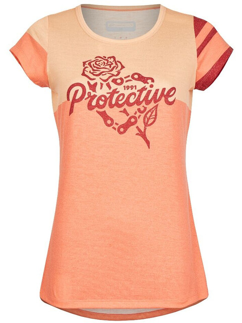 Protective P-Inner Vision T-Shirt Women coral